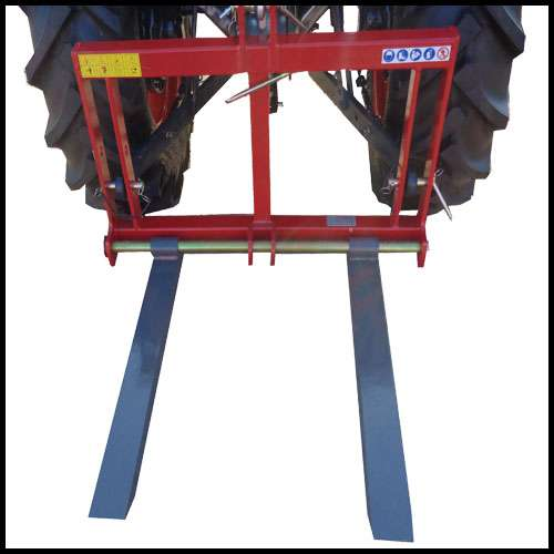 pallet fork Lift1000 300kg fork carriage for Kubota, Iseki
