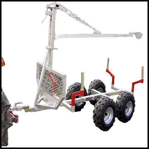 r ckewagen forstanh nger hr500 ohne kran f r kleintraktor. Black Bedroom Furniture Sets. Home Design Ideas
